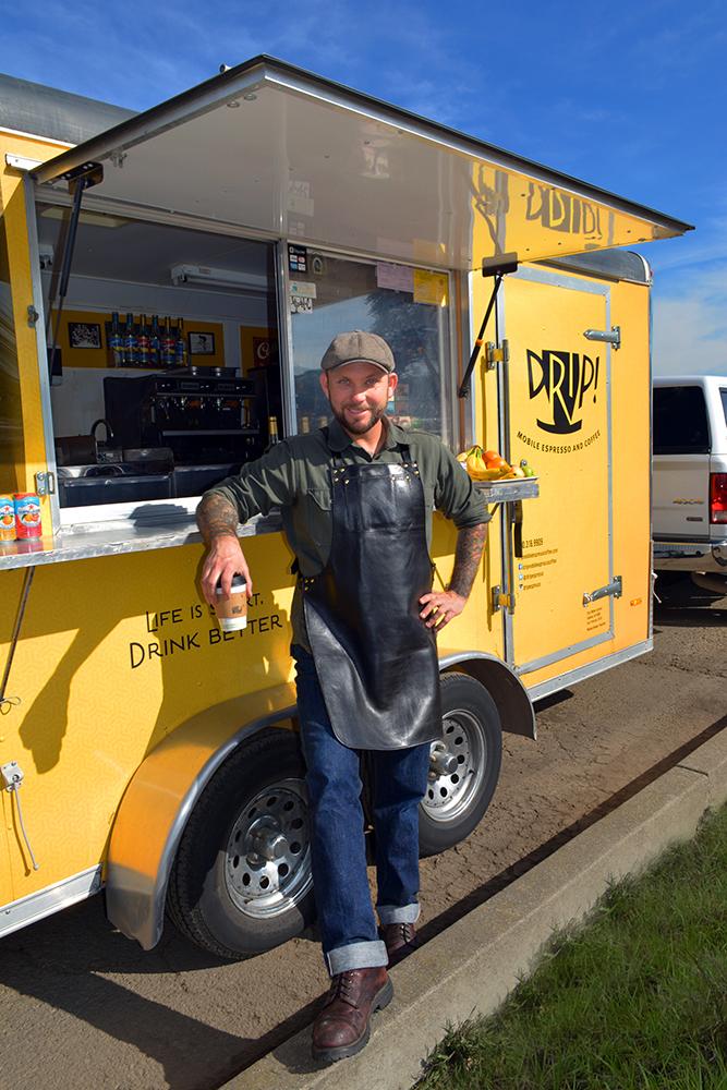 Drip! Mobile Espresso Owner Michael Breden
