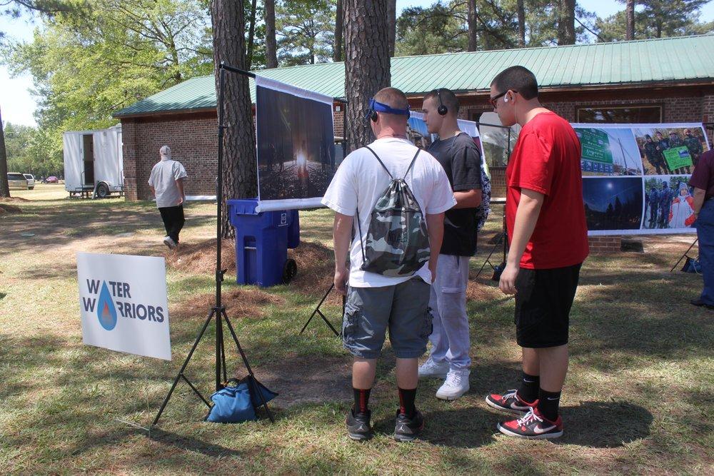 Pop-up show at Lumbee Pow Wow, North Carolina.