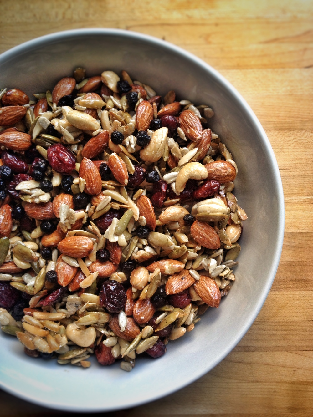 Roasted Maple Nuts