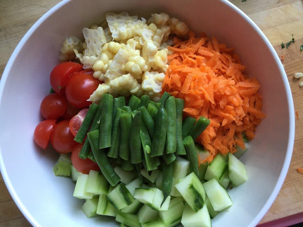 Garden Veggie Bowl