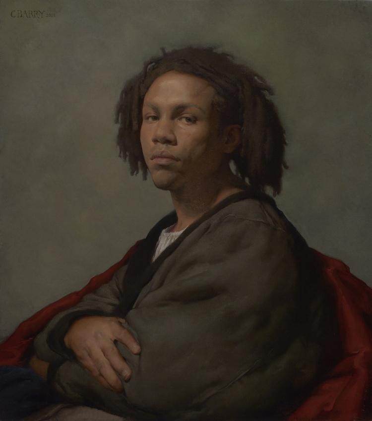 Colleen Barry,  Portrait of Jamaal