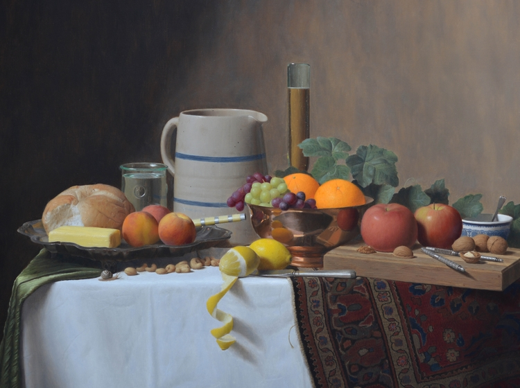 Justin Wood,  Still Life with Fruit