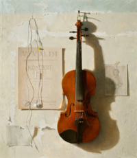 by Jacob Collins Painter & Student of Violin