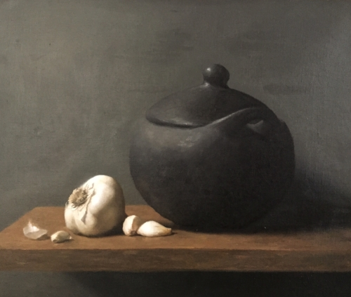 Diana Buitrago   Colombian Claypot  11 x 14 in oil on linen
