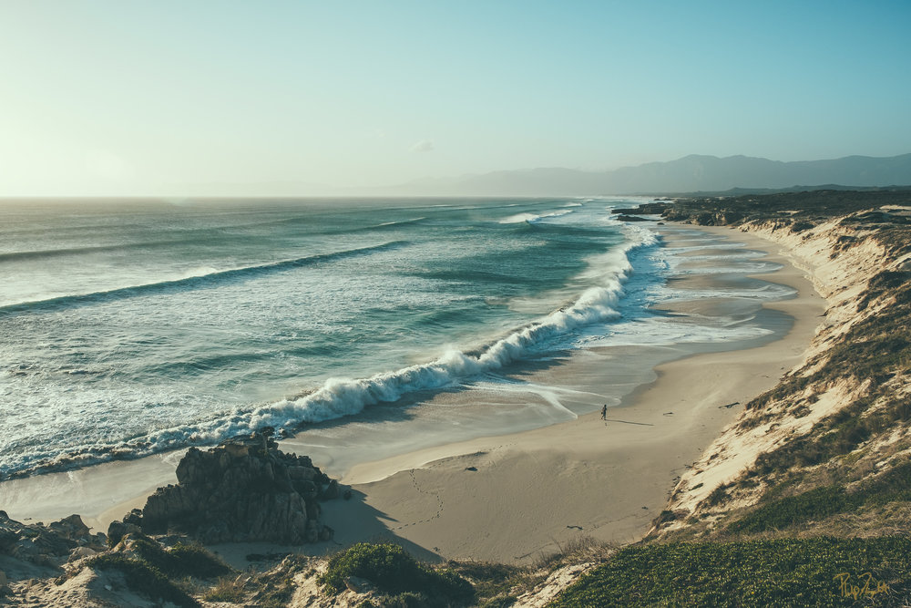 UNFORGIVING BEAUTY   The waves along the southern coast of Africa are violent. Get caught in them and you could lose your life. I chose to see them from a distance. It's wild how the sound of waves crashing can be both terrifying and therapeutic.    BUY NOW