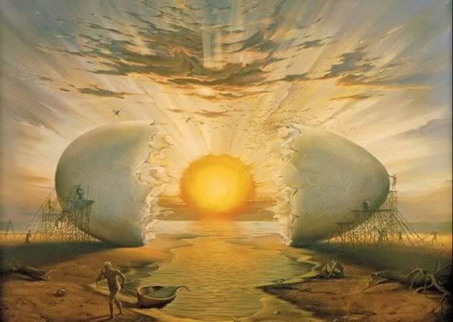 Sunrise on the Ocean, Vladimir Kush