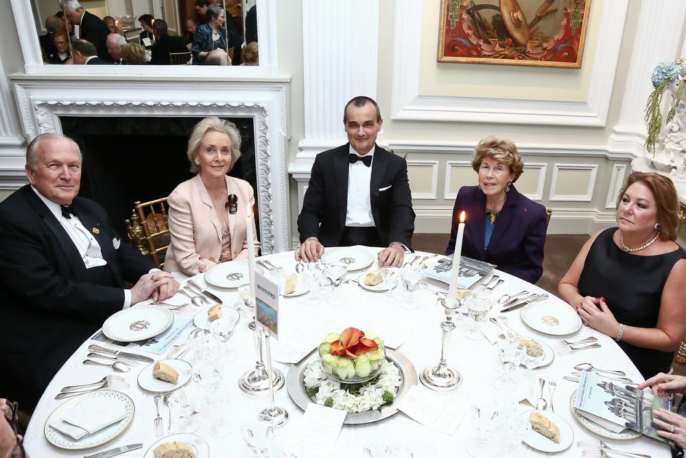 George Sape, didi d'Anglejan, Ambassador Araud, Eugenie Angles & Amy Meadows.jpg