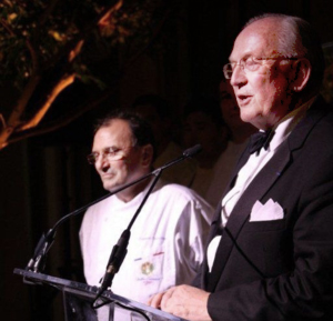 George Sape Honoring French chef Delouvrier