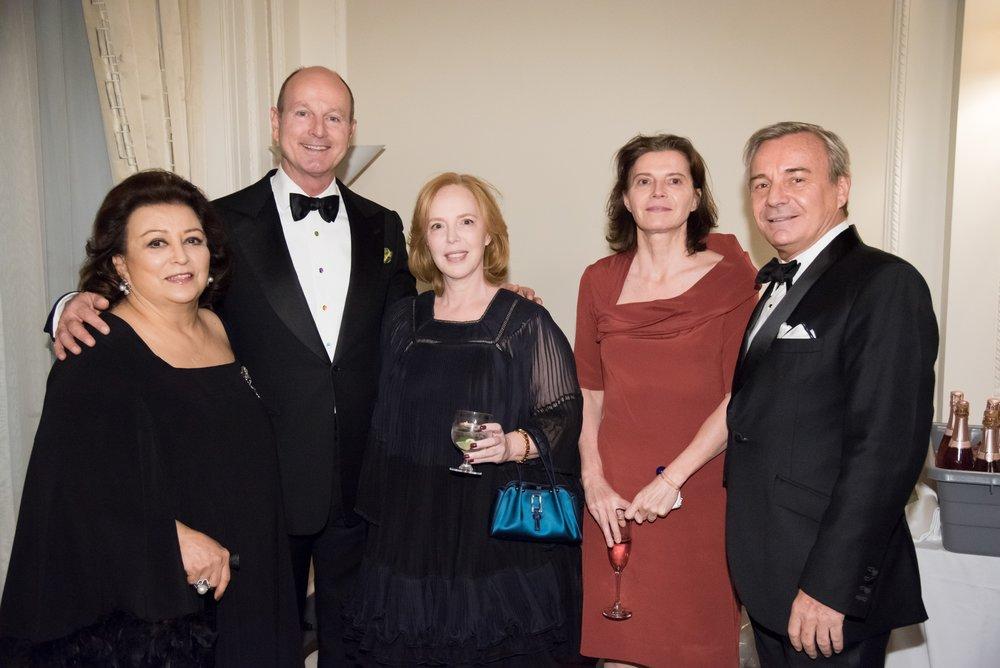 Maryam Ansari, HR Prince Dimitri Of Yugoslavia, Cecile David Wei