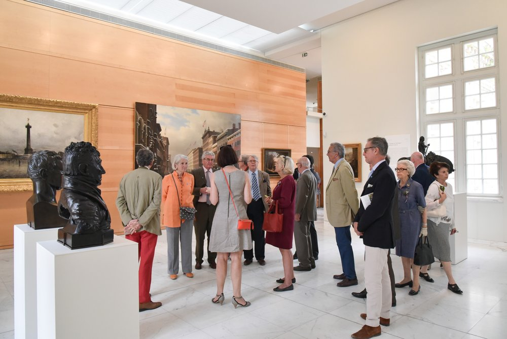 Guests at The Grand Re-Opening of the Franco-American Museum at Blérancourt, France at Franco-American Museum in Blérancourt, France on 06/24/2017 (photo by Annie Watt Agency / Sipa US