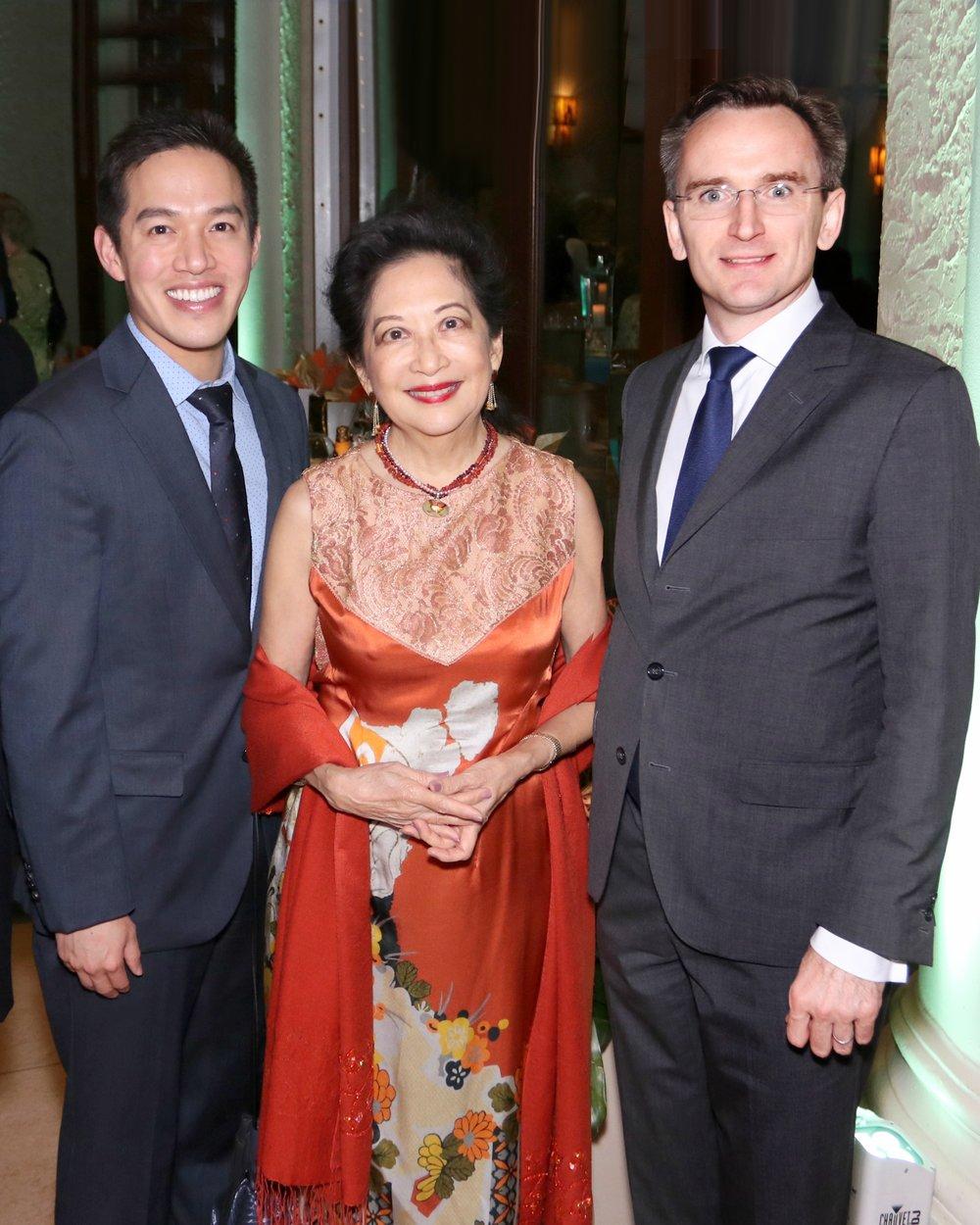Patricia Lee, Dr. Bradford Lee, Mssr. Clement Leclerc