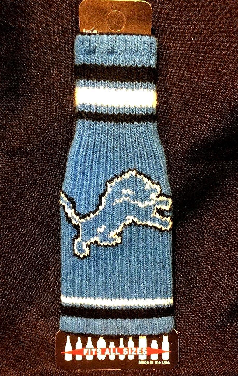 Detroit lions nfl krazy kover koozie - $5.00
