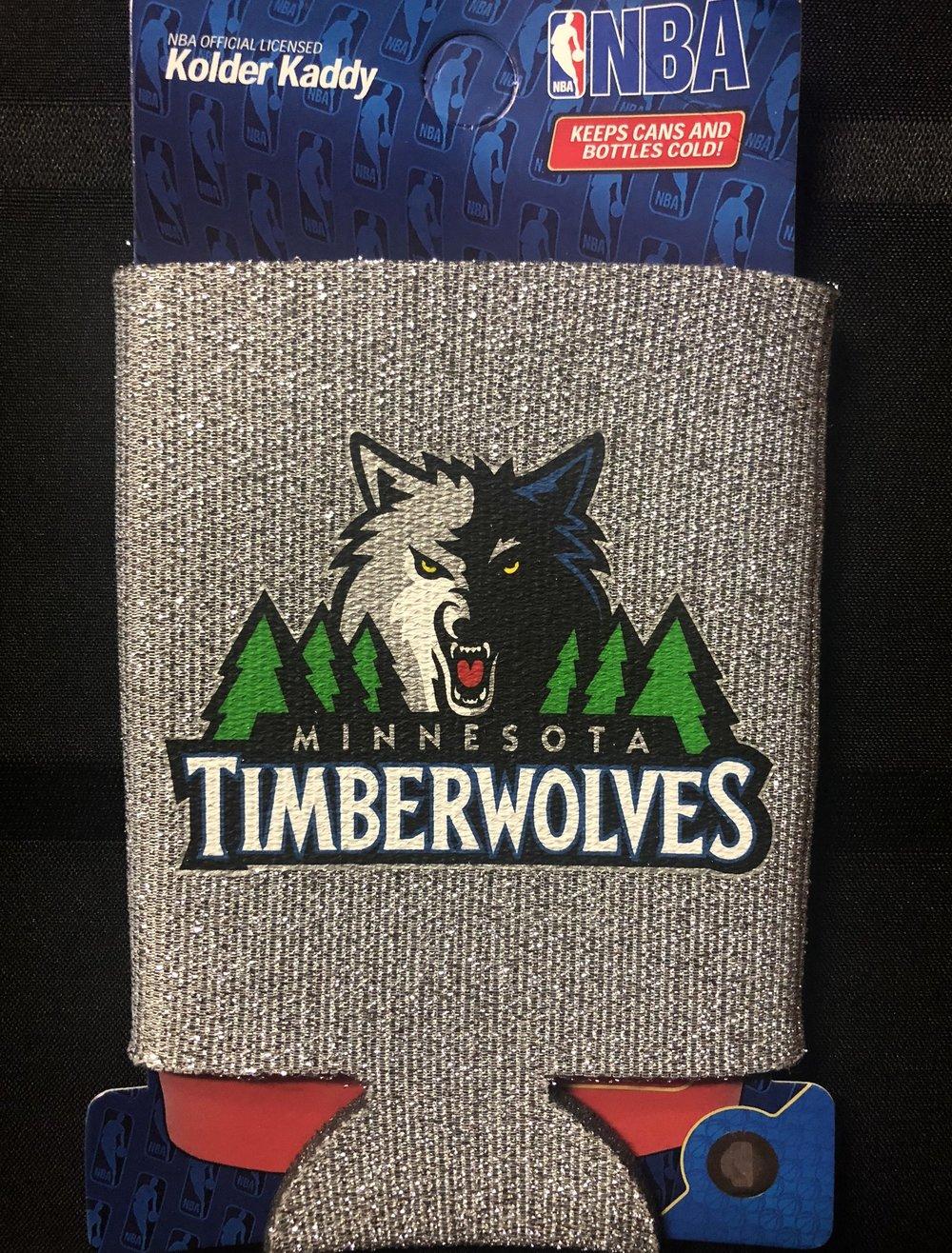 MINNESOTA TIMBERWOLVES NBA KOOZIE - $4.00