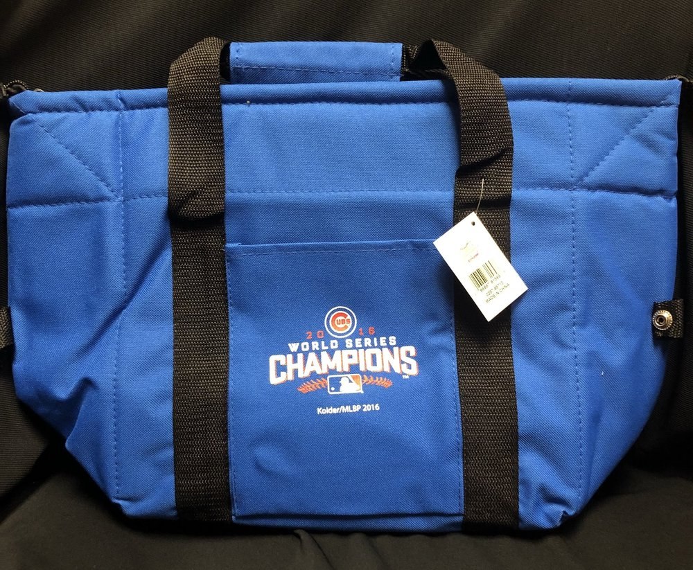 Chicago cubs world champions 2016 lunch box - $19.99