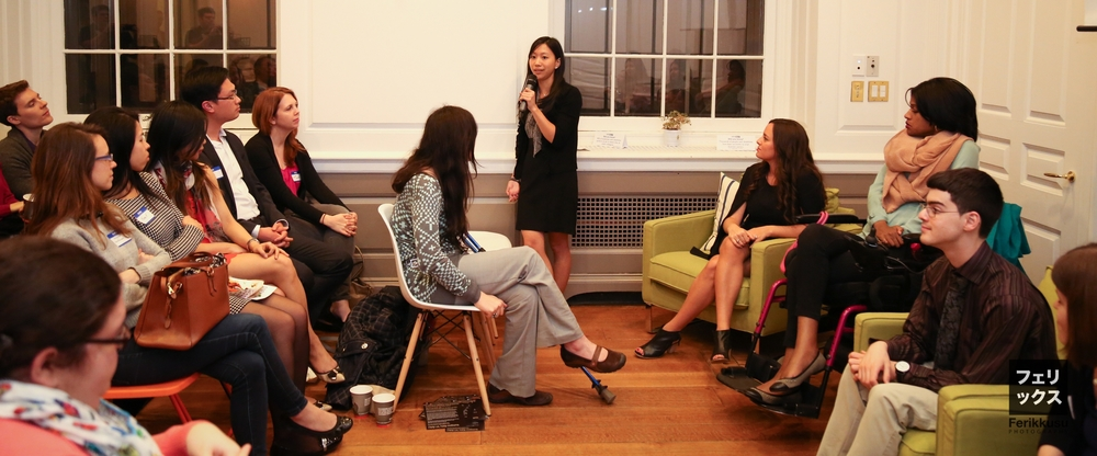 Tiffany Yu at Diversability's New York launch in NYC, April 2015 (Photo Credit: Felix Chen)