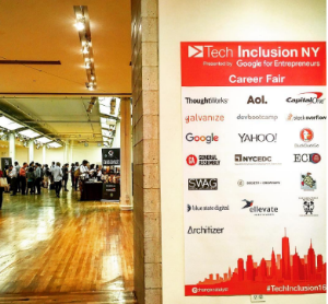 Photo credit: #TechInclusion16