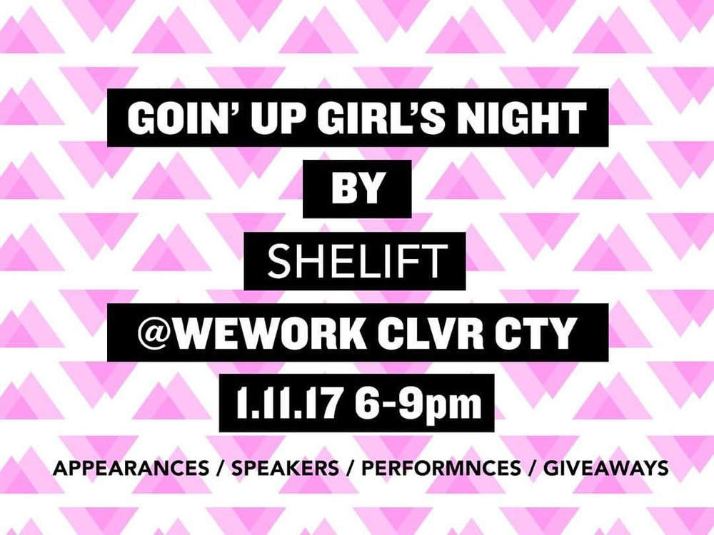 shelift girls night event details