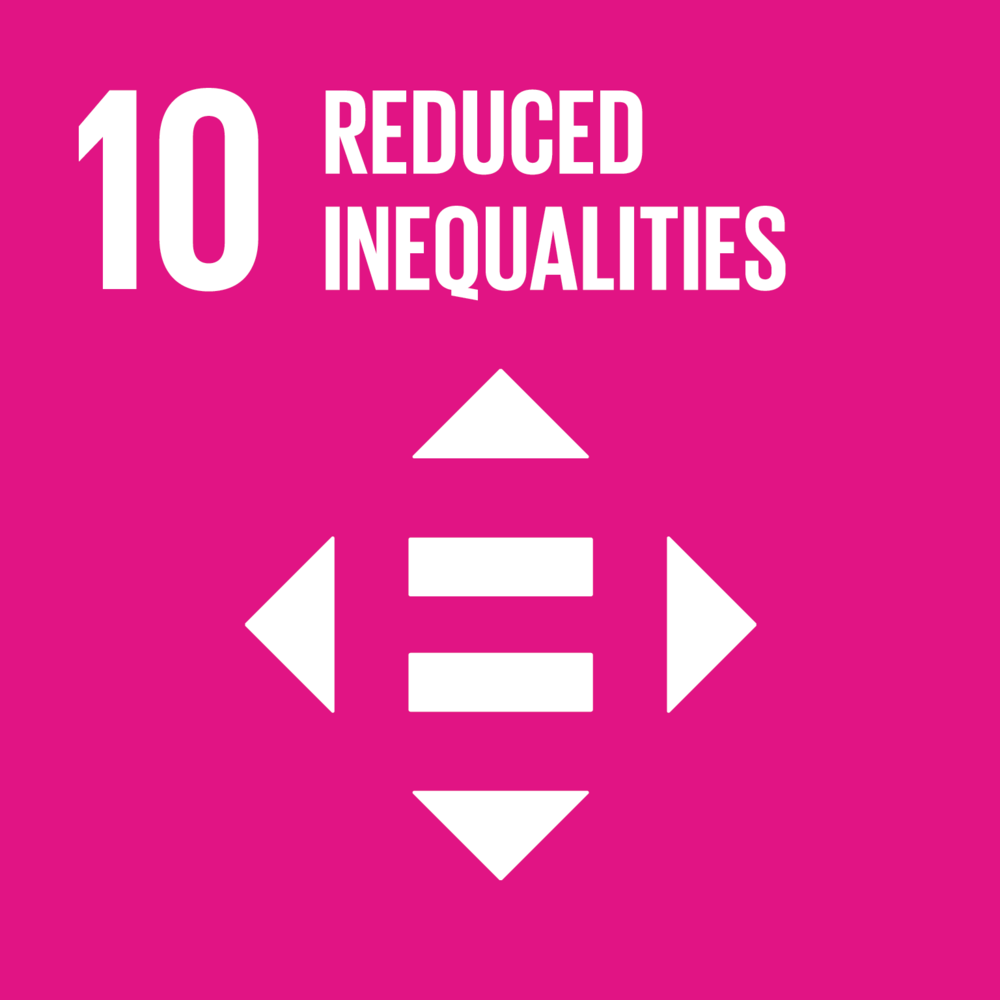 SDG 10 reduced inequalities icon