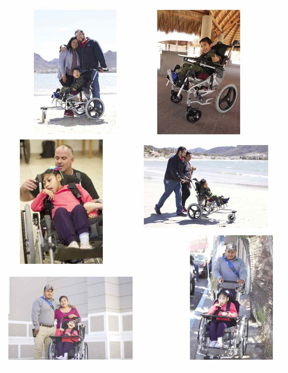 On Feb. 16, the wheelchairs were tested in Guaymas, Mexico by pilot users.