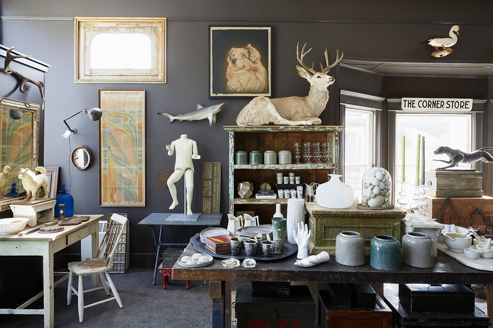 Contemporary Art Meets Centuries-Old Antiques in the Catskills | And North