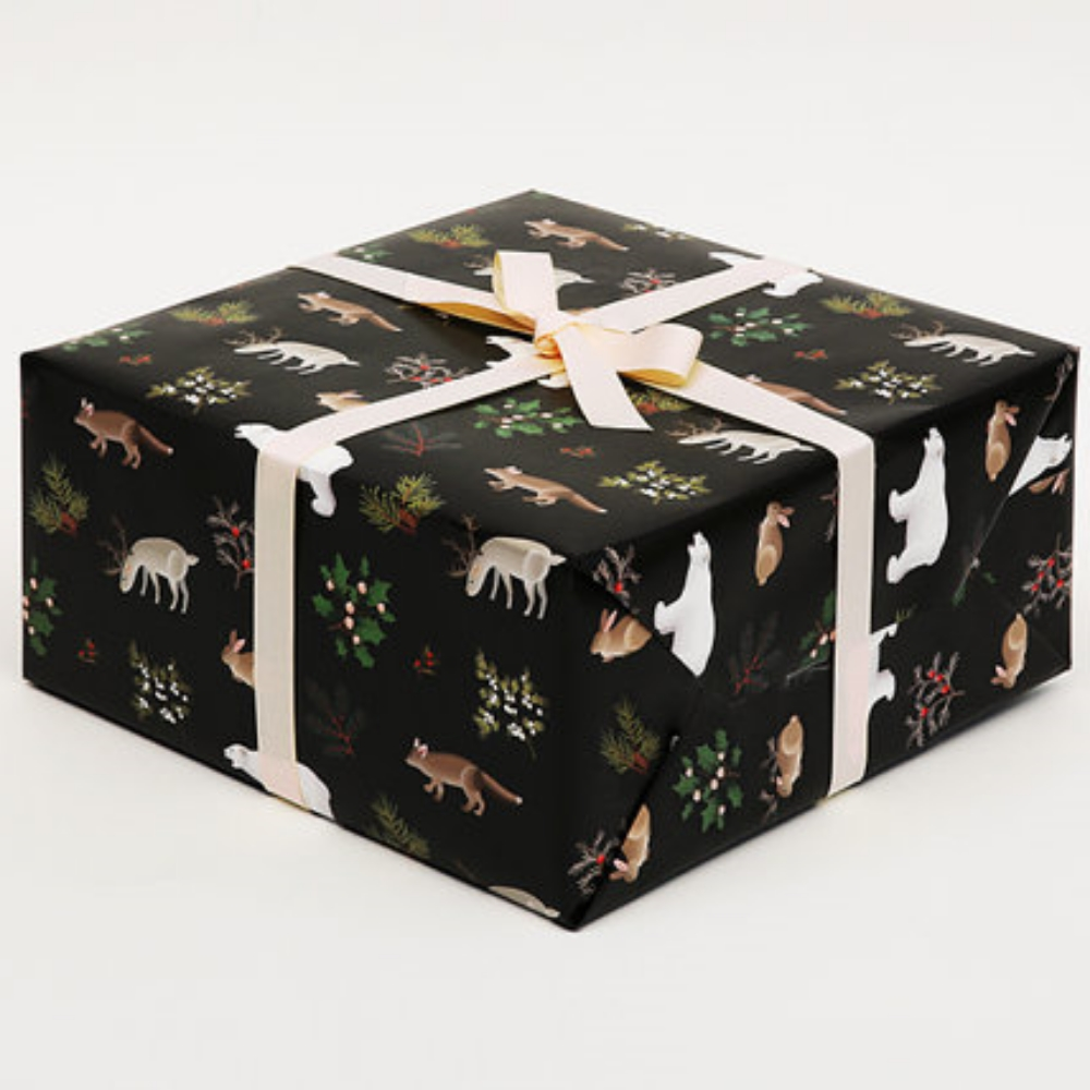 Winter Animals Christmas Wrapping Paper