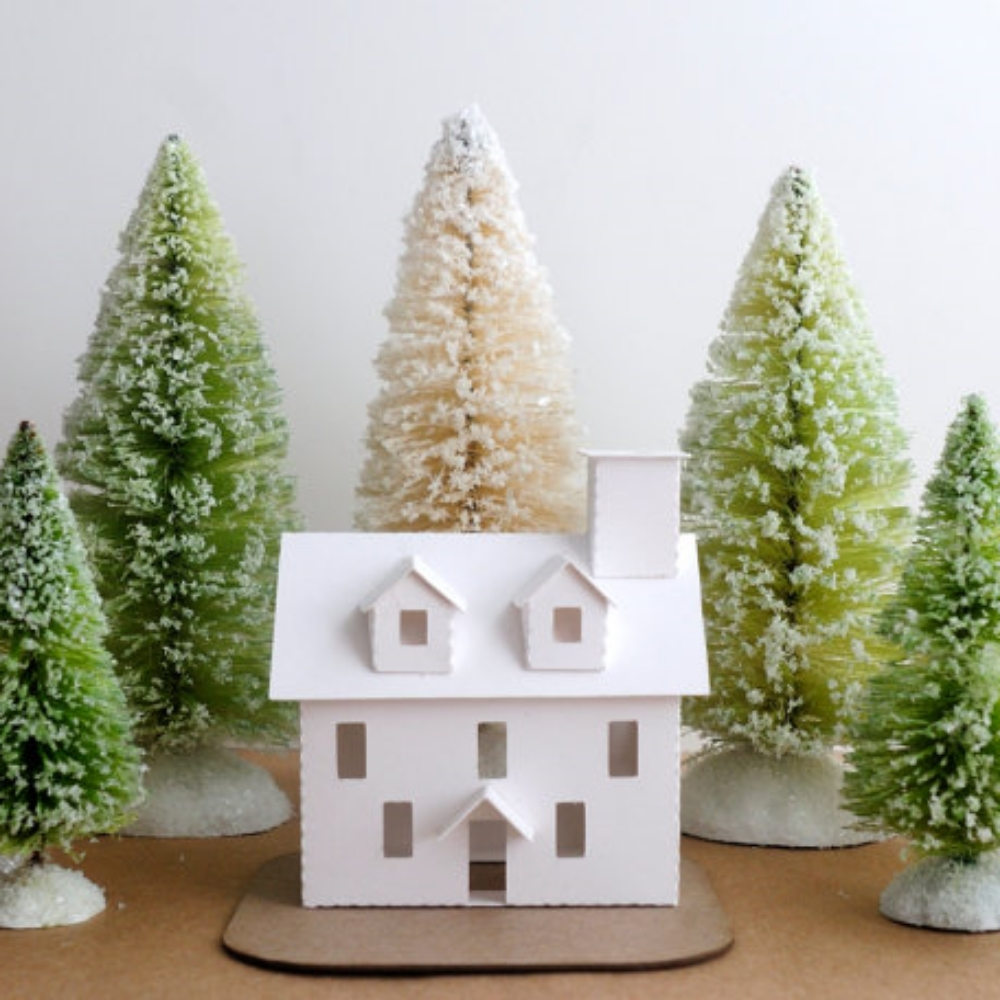 DIY Colonial House Ornament