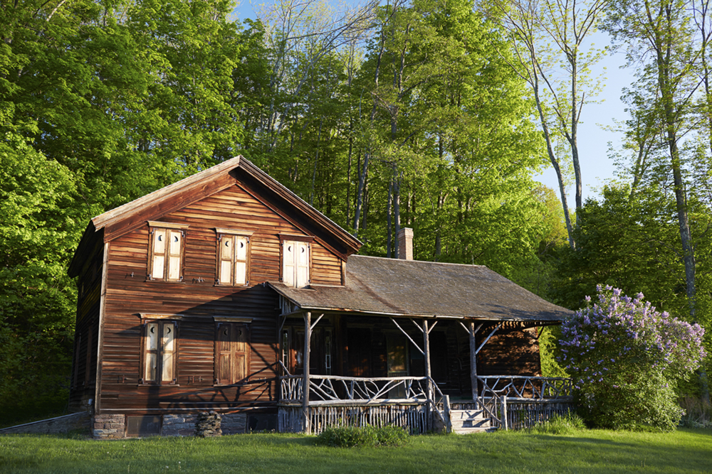The Catskills Home of Naturalist John Burroughs | And North