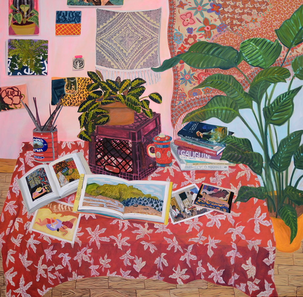 A Riot of Patterns & Plants by Anna Valdez