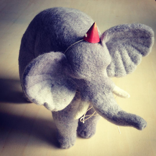 Big Kid: The Darling Menagerie of PetitFelts | A Good Yarn