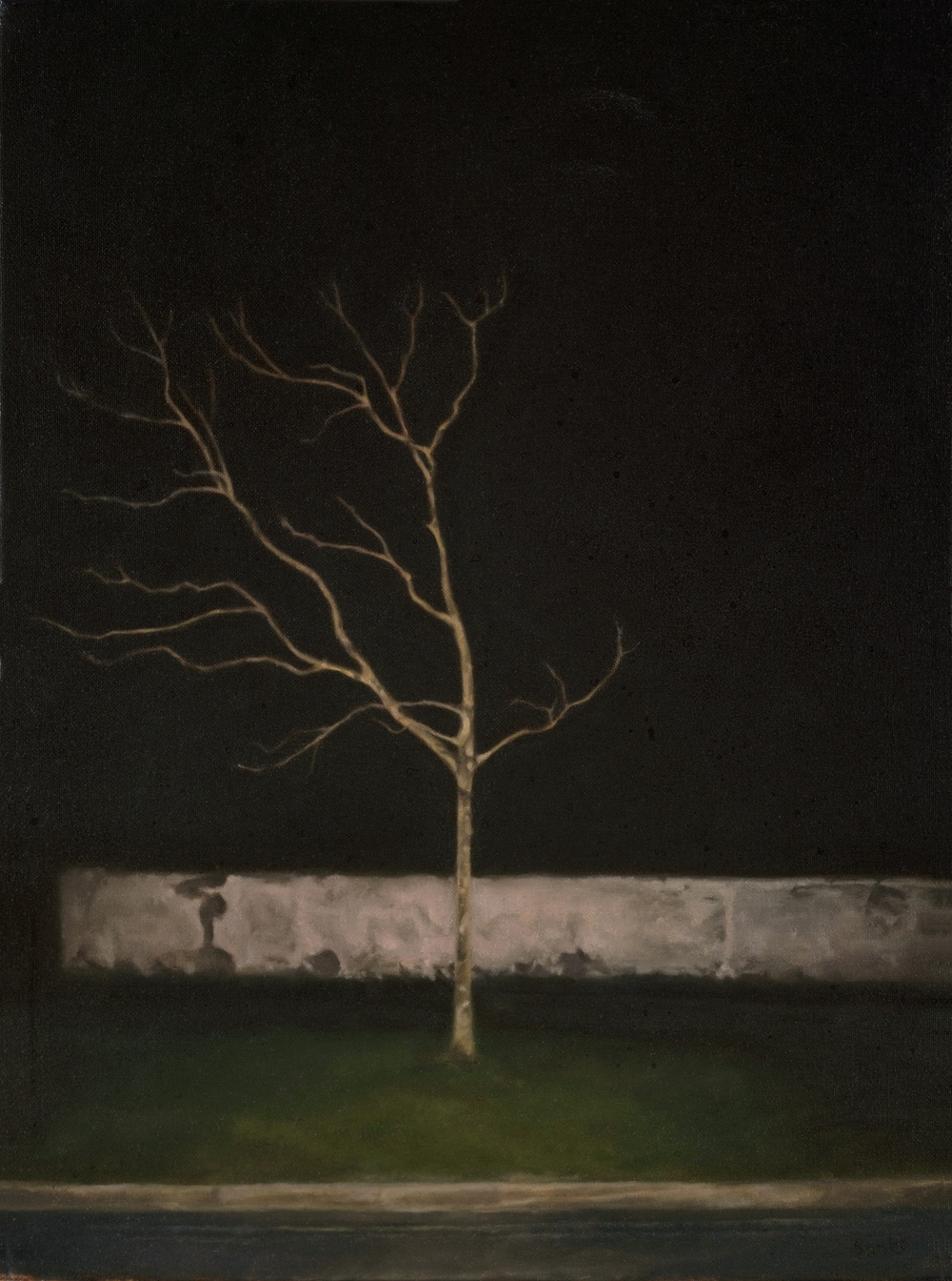 FILSHAM,  oil on canvas, 30cm x 40cm, 2012