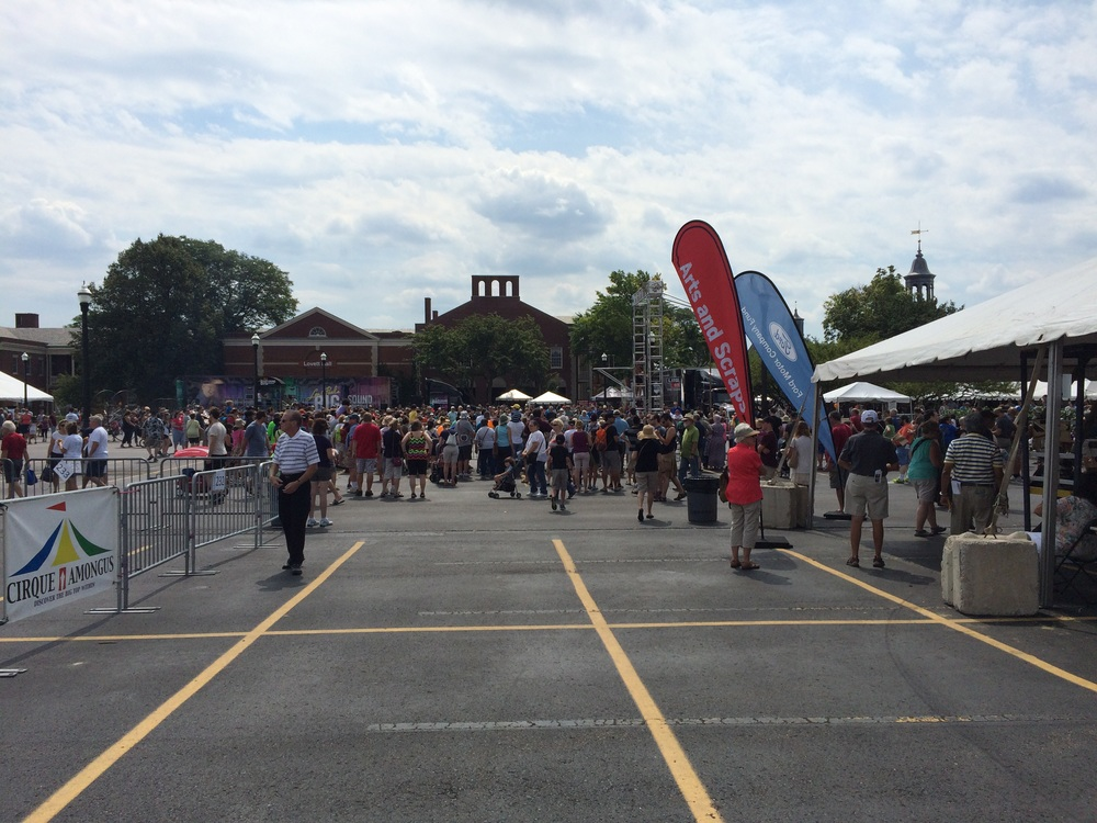 The swaths creative people who attended 2015 Detroit Maker Faire.
