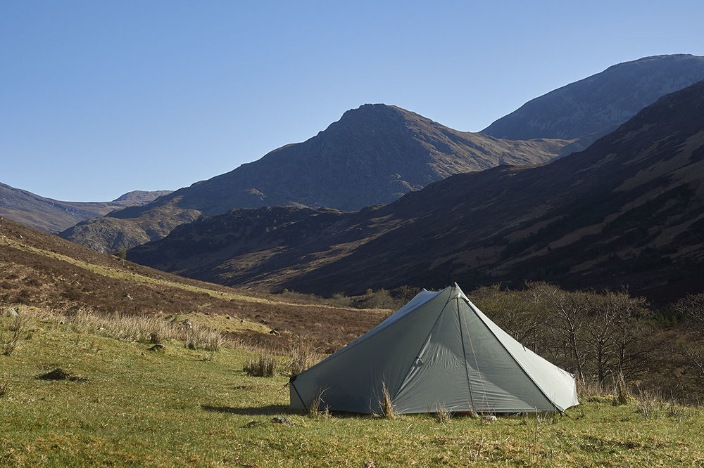 Wildcamping, Kintail.
