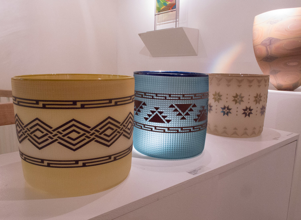 Love these basket forms by Preston Singletary