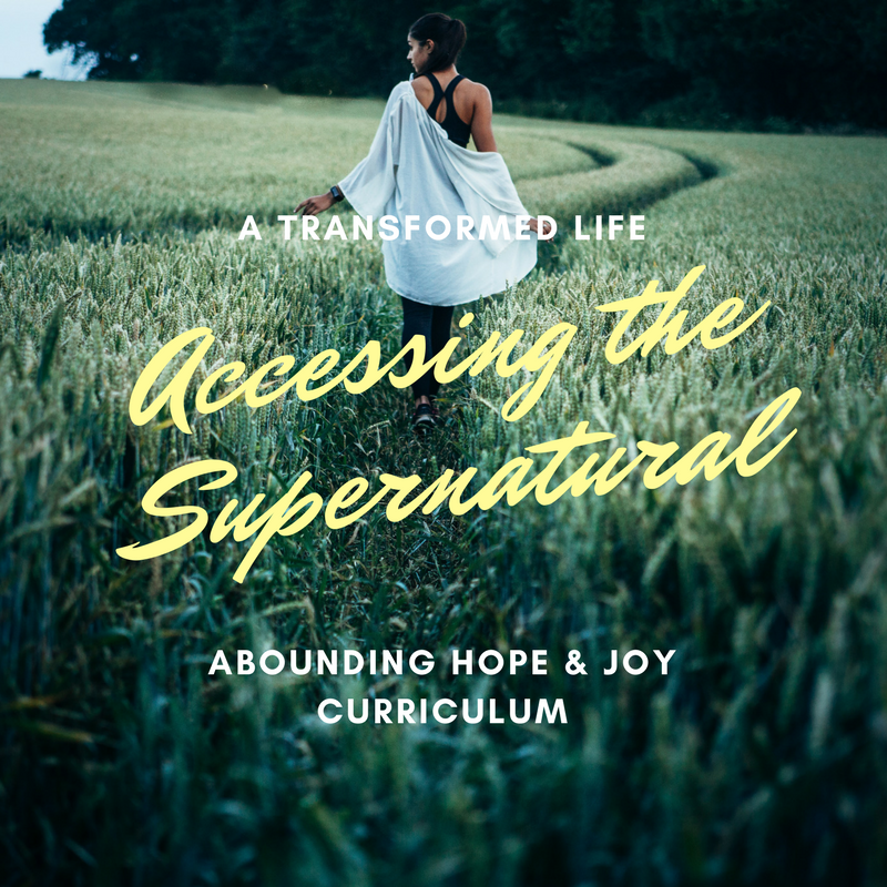 45-minute MP3 of A Transformed Life: Accessing the Supernatural from the Abounding Hope & Joy Curriculum