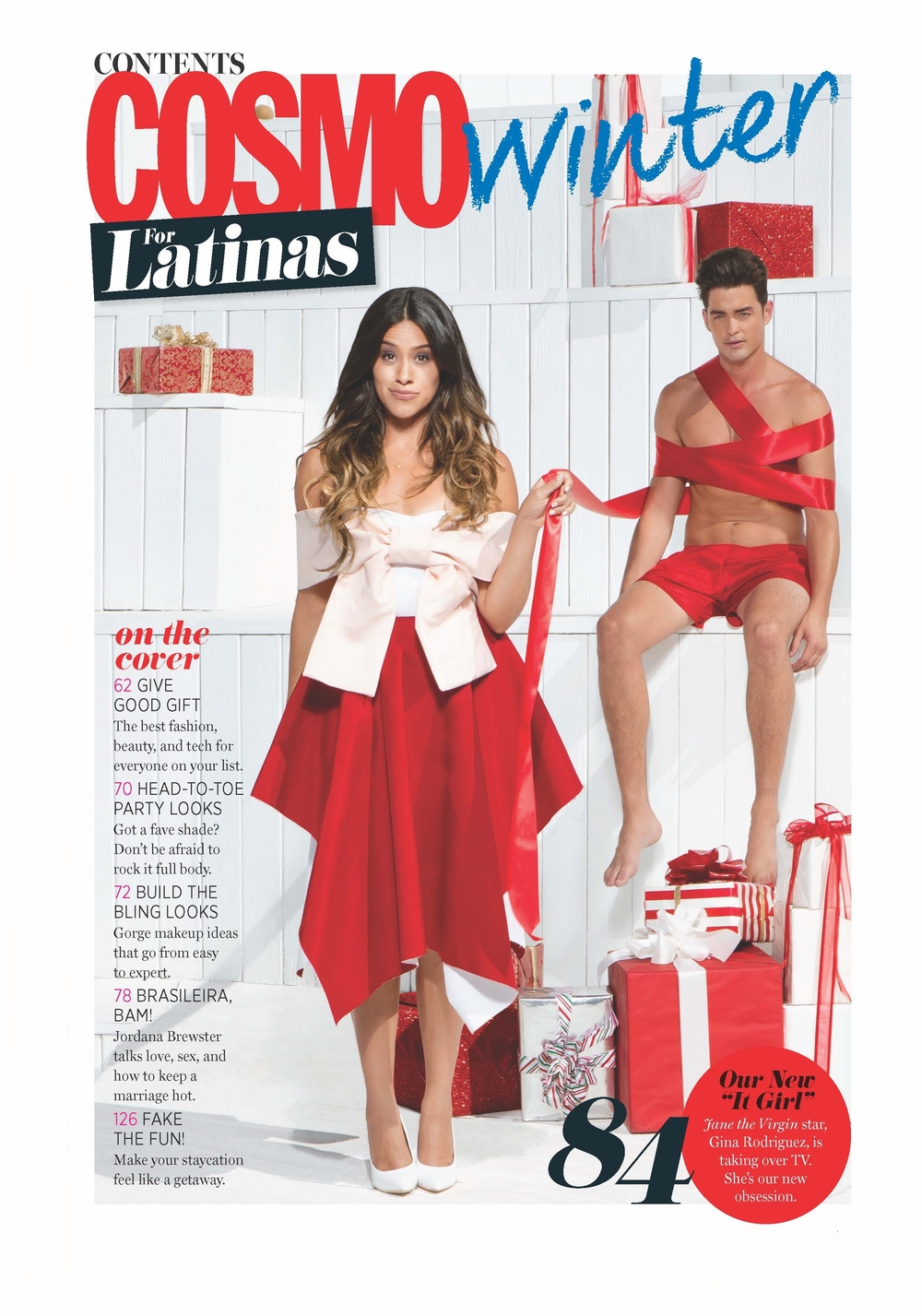 Cosmo for Latinas Magazine - Gina Rodriguez