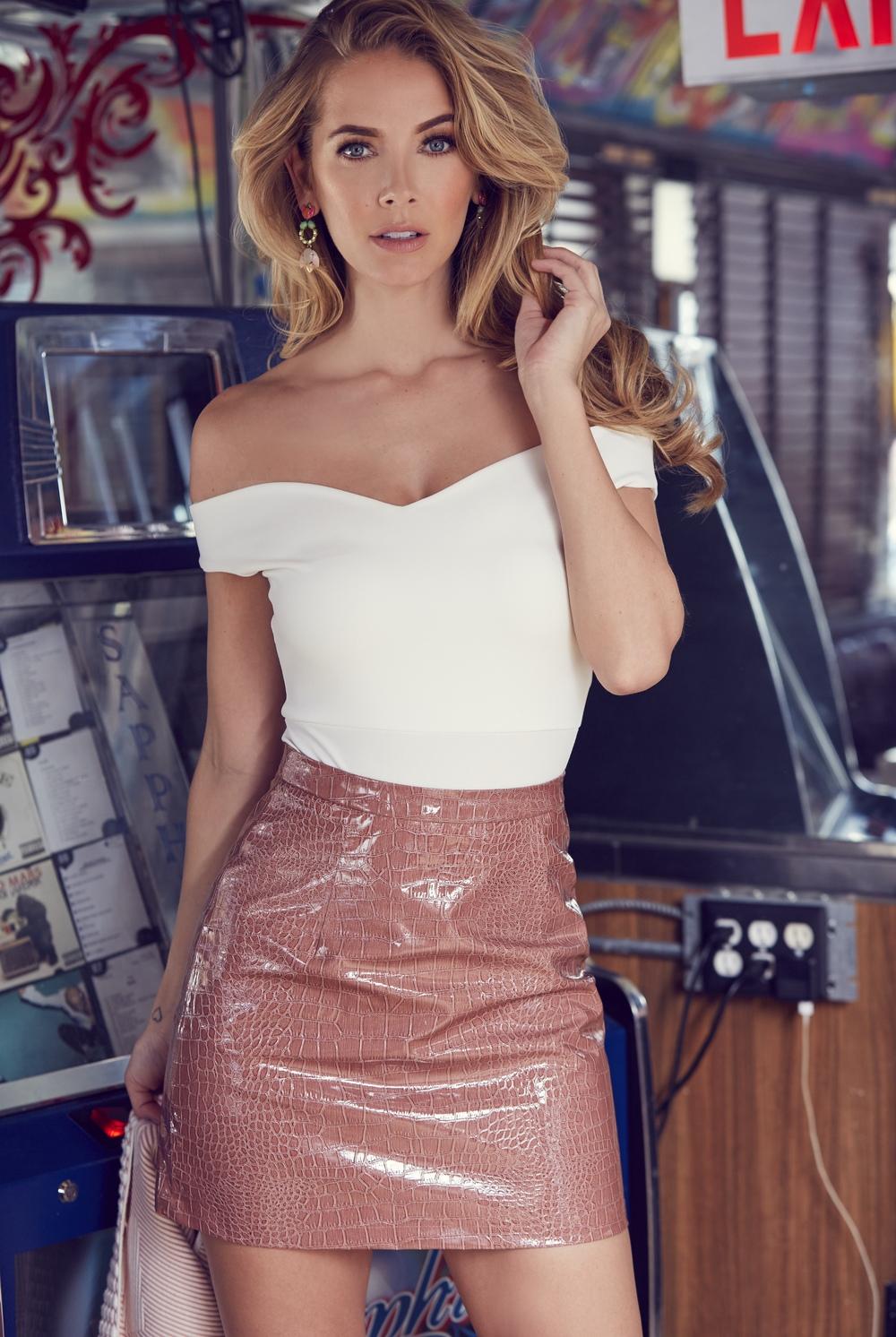 GALORE Magazine - Olivia Jordan (Miss USA)