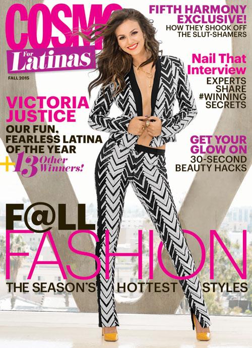 Fashion Editor: Laura Zapata. Stylist: Niria Portella. Cover, Cosmo for Latinas.
