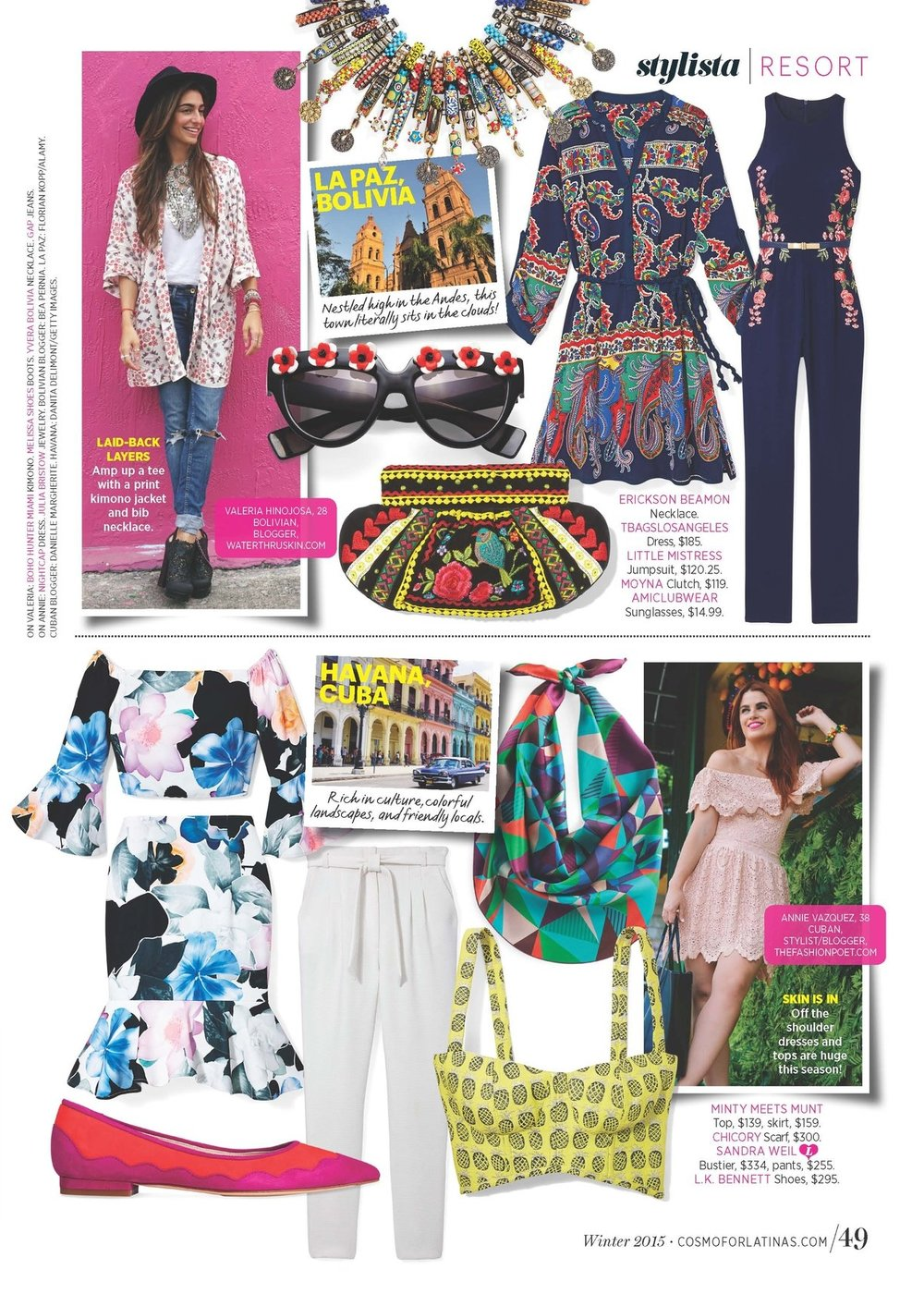 Trend Direction & Fashion Editor, Trend Report (FOB) -  Cosmo for Latinas.