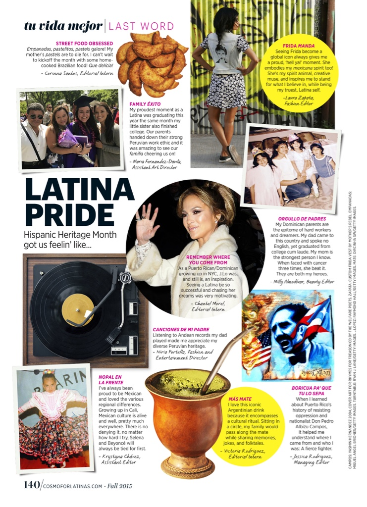 COSMO FOR LATINAS MAGAZINE