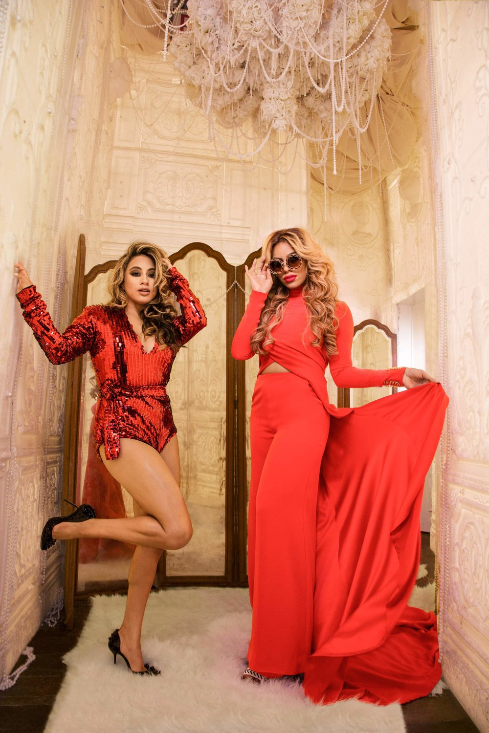Cosmo for Latinas   Magazine Celebrity Fashion Feature (Ally Brooke & Dinah Jane). Photo: Kareem Black.