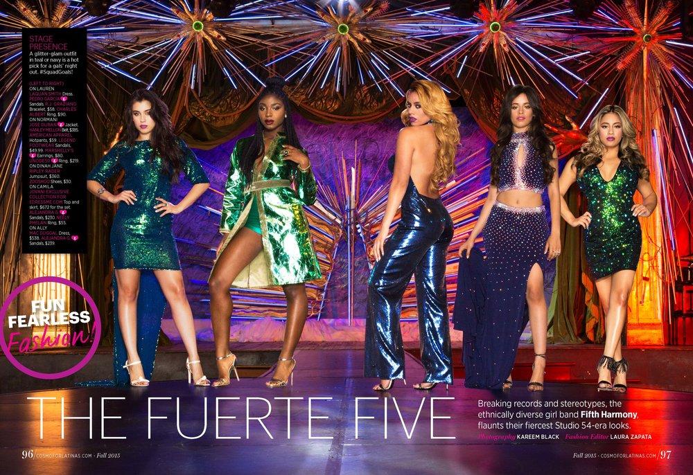 Cosmo for Latinas Magazine - Fifth Harmony
