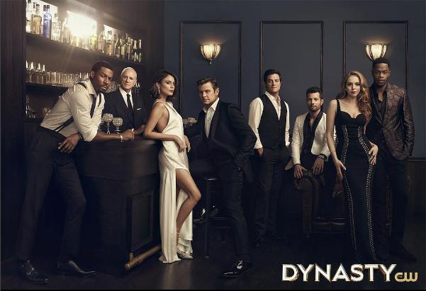"Women's Fashion Editor: Laura Zapata. Costume Designer: Meredith Markworth-Pollack. ""DYNASTY"" (The CW Network) Season 1 promotion."