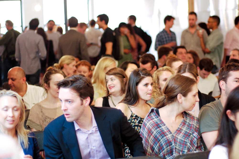 A sold-out crowd attended the launch of the Future of Fashion event series.