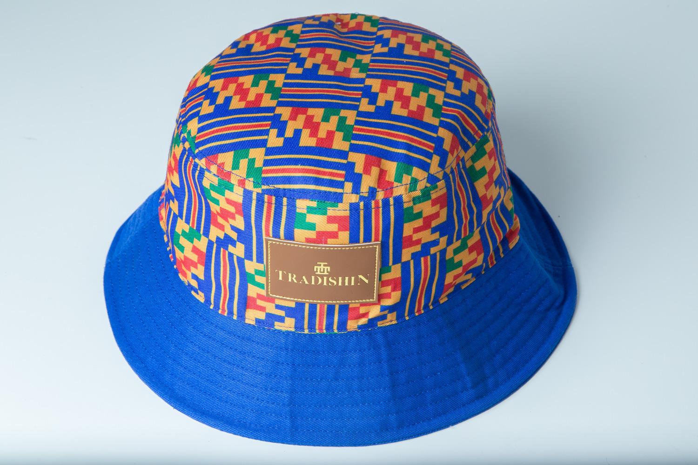 ff841ab2ad5 Kumaźa Kente Bucket Hat — TRADISHIN