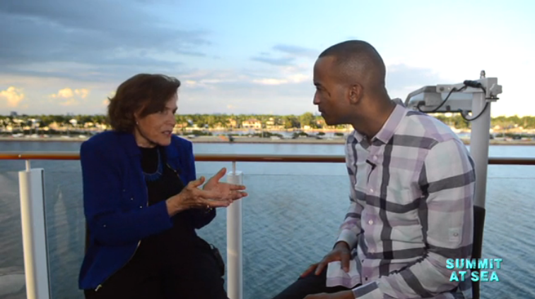 "There's still hope for Earth's oceans:   Aquanaut and National Geographic's explorer-in-residence Sylvia Earle joins MSNBC's Dorian Warren to discuss ""hope spots"" and how we can still prevent oceans from being destroyed."