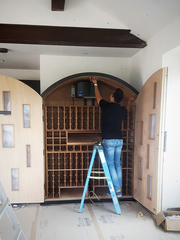 Sommi Wine Cellars • Custom Wine Cellars for Custom Homes