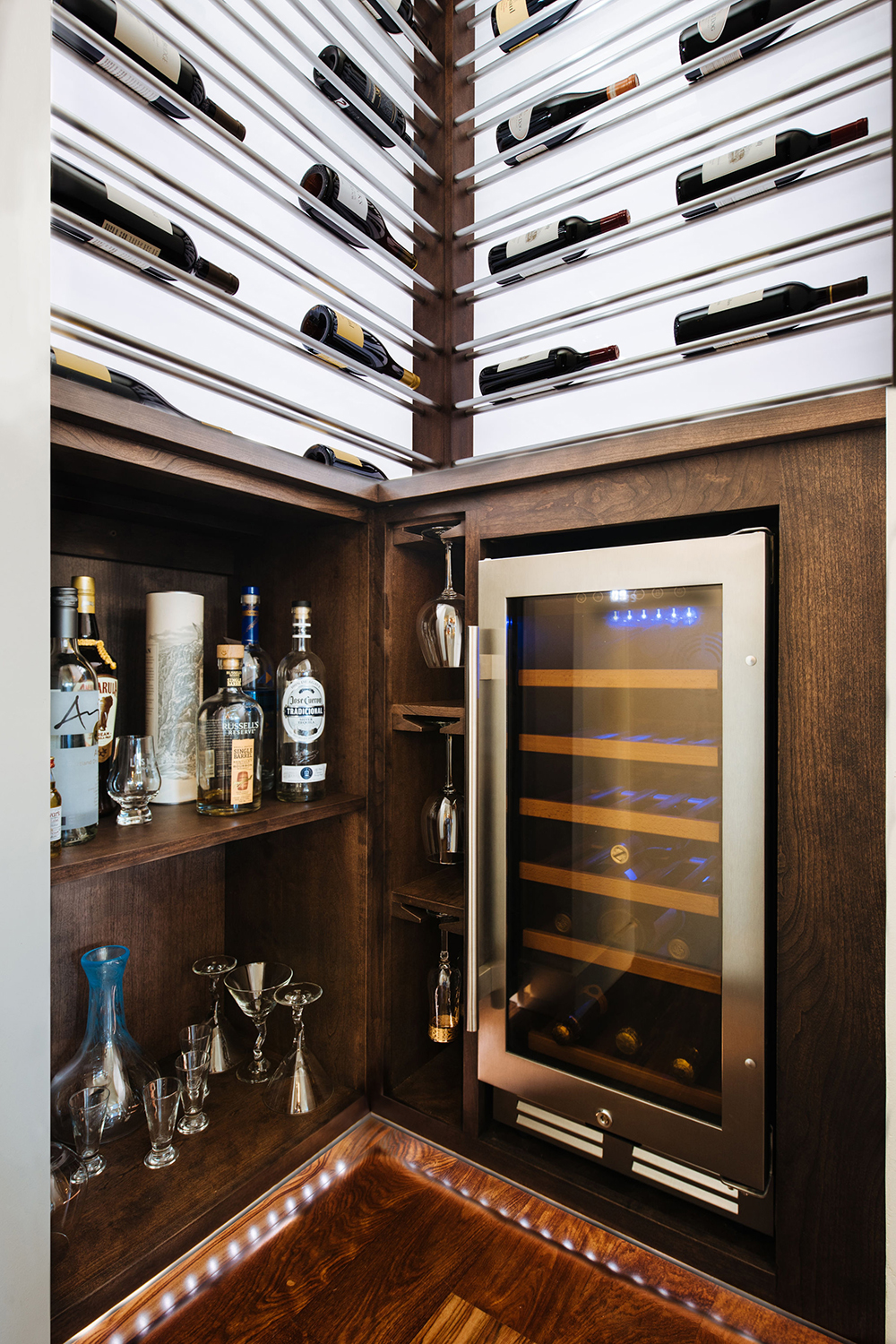 Luxury Wine Storage in a Small Space • Sommi Wine Cellars