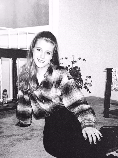 At my personal peak of hotness in 1994 - even in my flannel and Doc Martens. Nirvana forever!