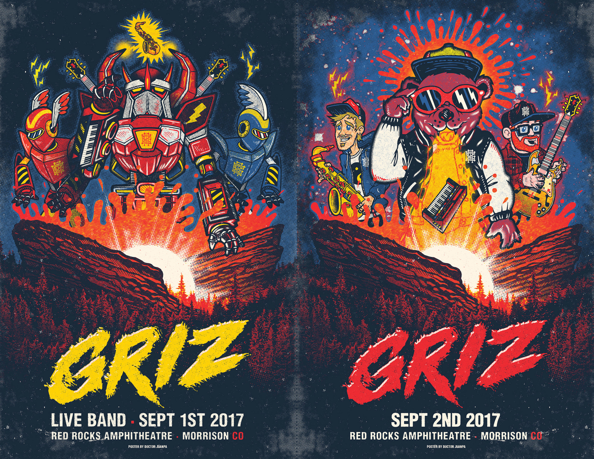 two nights at red rocks live band debut