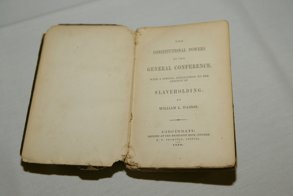 Bishop William Logan Harris, The Constitutional Powers of the General Conference, Ohio, 1860